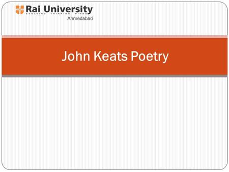 John Keats Poetry. Bright star, would I were stedfast as thou art-- Not in lone splendour hung aloft the night And watching, with eternal lids apart,