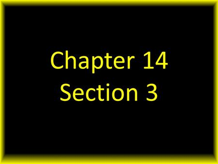 Chapter 14 Section 3. Suppose that each year you were given over $1.8 trillion dollars to spend. So much money! So many choices! In the reality, when.