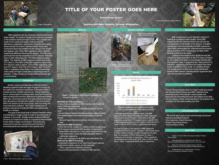 TITLE OF YOUR POSTER GOES HERE Student Names go here Science And Math Institute, Tacoma, Washington Abstract Introduction MethodsMethods Continued Discussion.