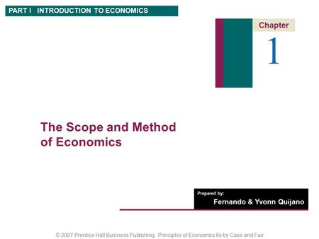 Specifically scope of commerce education