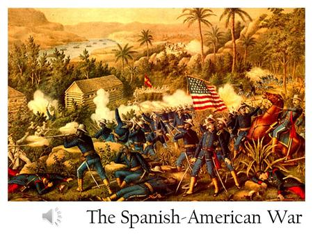 The Spanish-American War The Spanish Empire For many years, Spain had built and controlled a worldwide empire But by the 1890's, Spanish power was crumbling.