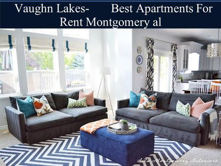 Vaughn Lakes- Best Apartments For Rent Montgomery al.