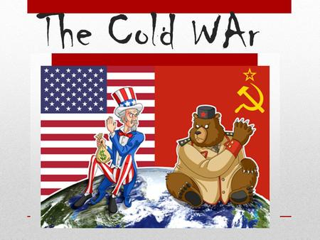 "The Cold WAr. Eastern Europe Stalin had 2 goals: Spread communism in Eastern Europe Create a ""buffer zone"" against further German aggression (invaded."