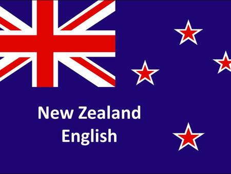 New Zealand English. New Zealand English is the form of the English language used in New Zealand. The English language was established in New Zealand.