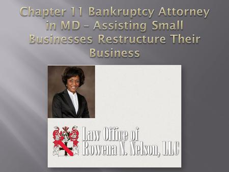 Small businesses that are in financial distress have three potential bankruptcy options. These are Chapter 7, Chapter 11, and Chapter 13.  Individuals.