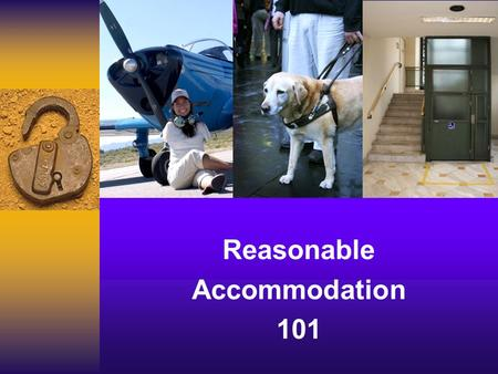 Reasonable Accommodation 101. Debbie Jones Disability Coordinator Lisa Kosh Regional Disability Coordinator Debbie Jones Disability Coordinator Lisa Kosh.