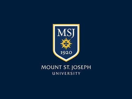 Mount St. Joseph University Learning Objectives Understand the Value of Being Healthy as a Student Leader Identify Current Stressors Identify Stress Management.