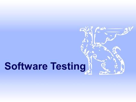 Software Testing. SE, Testing, Hans van Vliet, ©2008 2 Nasty question  Suppose you are being asked to lead the team to test the software that controls.