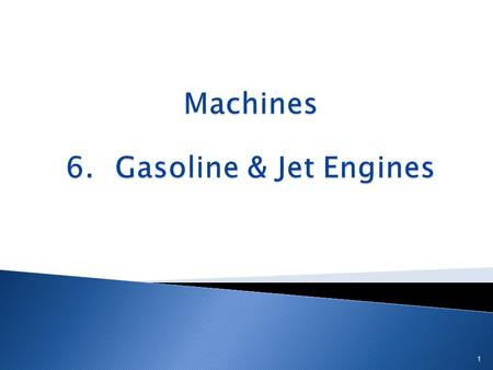 1. A car is a compound machine 2 It is made up of many simple machines.