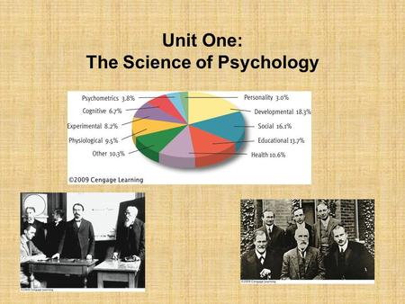 Unit One: The Science of Psychology.  Many things that happen to us leave no record in memory True or False? True: Most of the information around us.