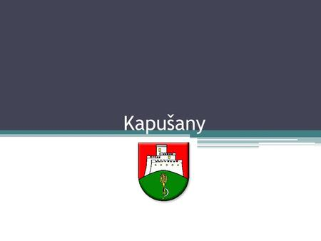 Kapušany. Quick facts Location: 4 km from Prešov Area: 11,31 km² Population: 2 162(31.12.2011) Mayor: Ing. Jozef Pribula 29 streets 3 rivers or brooks.