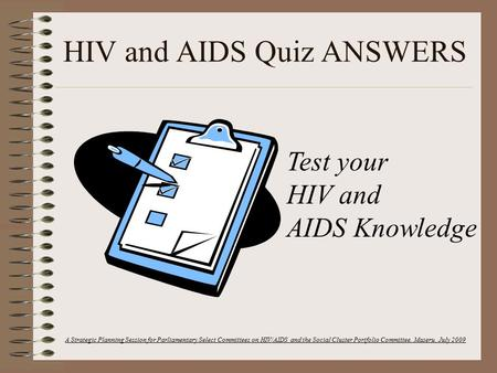 hiv and aids prevention plan