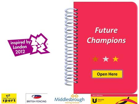 Future Champions Open Here. INTRODUCTION Thank you for attending the testing session at Teesside University as part of the Future Champions programme.