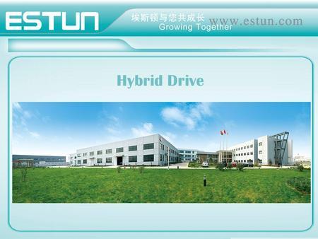 Hybrid Drive. 3. Application analysis 2. Why electrical hydraulic drive 1. Introduction Contents 4. Application cases & reference.