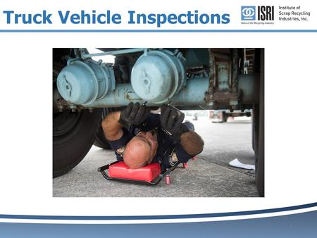 1 Truck Vehicle Inspections. Top 10 Vehicle Defects 2 No.DescriptionSeverity 1.Inoperative Required Lamp2 2.No or defective lighting or reflective devices3.