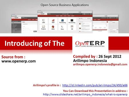 Source from :  Compiled by : 26 Sept 2012 Arilimpo Indonesia Arilimpo's profile in :