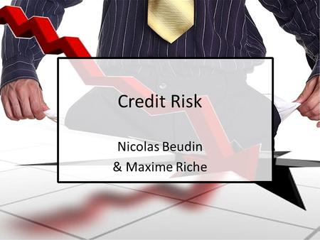 Credit Risk Nicolas Beudin & Maxime Riche. Agenda 1. Overview 2. Valuation 3. Dealing with credit risk 4. Conclusion 5. Appendix 2.