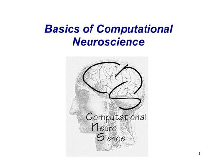 1 Basics of Computational Neuroscience. 2 Lecture: Computational Neuroscience, Contents 1) Introduction The Basics – A reminder: 1) Brain, Maps, Areas,