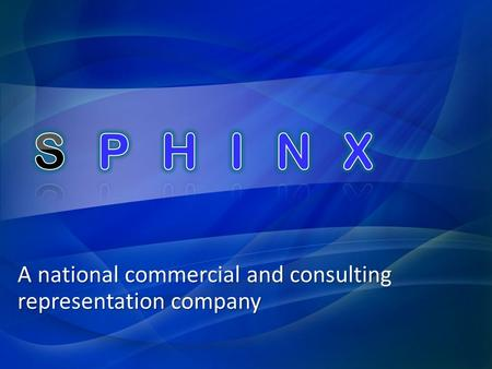 A national commercial and consulting representation company.
