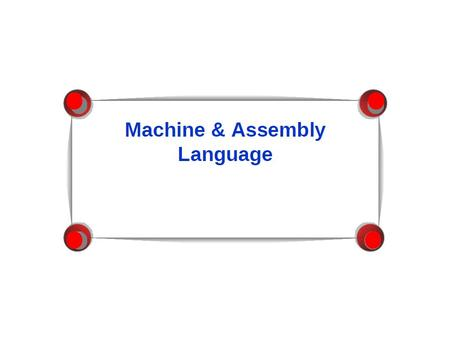 Machine Language Computer languages cannot be directly interpreted by the computer – they are not in binary. All commands need to be translated into binary.
