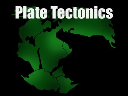 Plate Tectonics. The Plate Tectonic Theory Earth's lithosphere is broken into pieces called plates, and their movement creates major changes in Earth's.