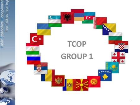 TCOP GROUP 1 1. OUTLINE Countries present: Turkey, Bulgaria, Macedonia, Albania, Romania, Indonesia, France, (World Bank) Question 1: External conditions.