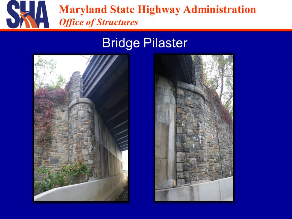 Maryland State Highway Administration Office of Structures Maryland State Highway Administration Office of Structures Rehabilitation Cost Comparison Temporary Bridge Estimated cost of temporary bridge = $800,000Estimated cost of temporary bridge = $800,000 Reconfigure rampsReconfigure ramps Temporary approach roadwayTemporary approach roadway Right-of-wayRight-of-way Demo over trafficDemo over traffic Reduced Traffic lanesReduced Traffic lanes Total cost = $800,000+++ SPMTs Bid Prices SPMTs = $450,000SPMTs = $450,000 Grade Median = $5,700Grade Median = $5,700 Rebuild Shoulders = $120,000Rebuild Shoulders = $120,000 Temporary Towers = $290,000Temporary Towers = $290,000 Total Cost = $865,700