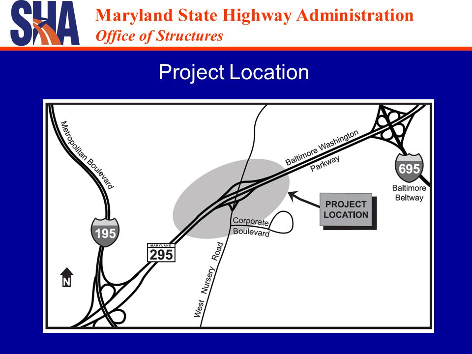 Maryland State Highway Administration Office of Structures Maryland State Highway Administration Office of Structures Existing Bridge Elevations Bridge No.