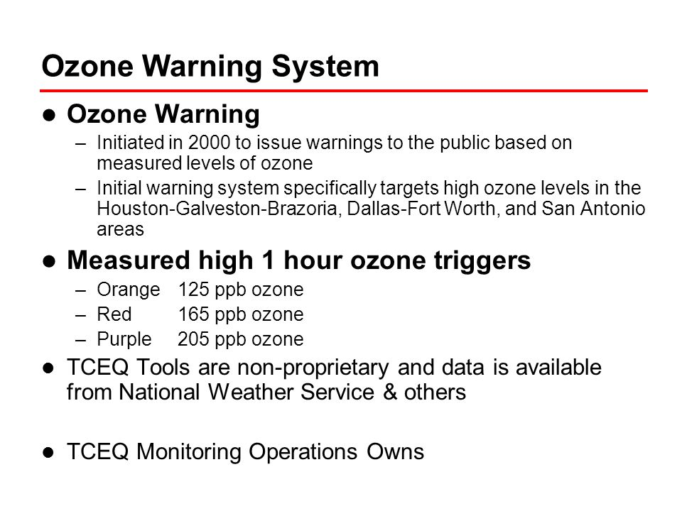 Ozone Episode Followup HRM Members receive compilation of data for each ozone exceedance episode –Tabulation of key data for each monitor that exceeded –Summary data (Example attached) –Back trajectory plots –NOAA Satellite Image & NOAA & NWS Forecast of Fronts, Pressure, and Weather Exploring improving shared analysis tools to better automate data visualization and facilitate analysis.