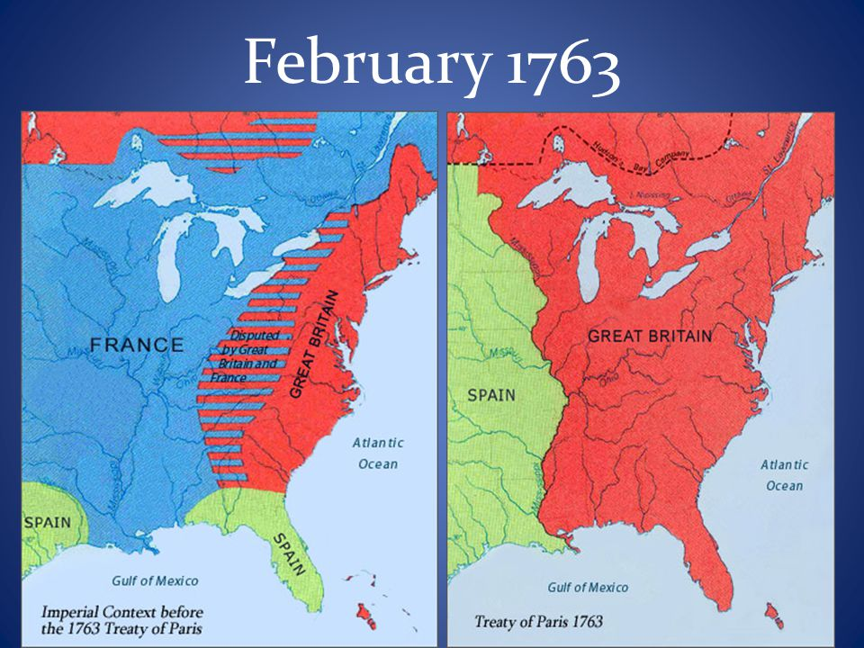 Effects The Proclamation Line of 1763 was established