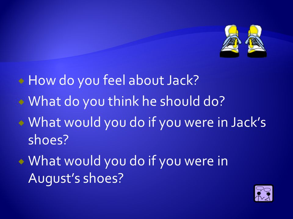  Why would Jack want to tell August about Lightning?