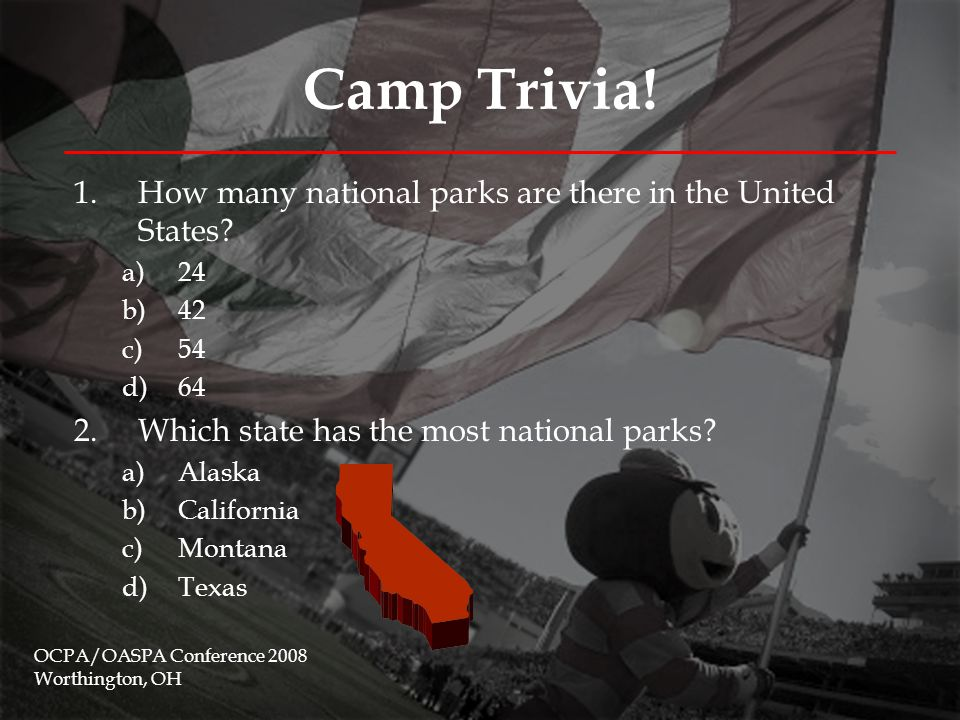 Camp Trivia.3.Approximately, how long is the Appalachian Trail.
