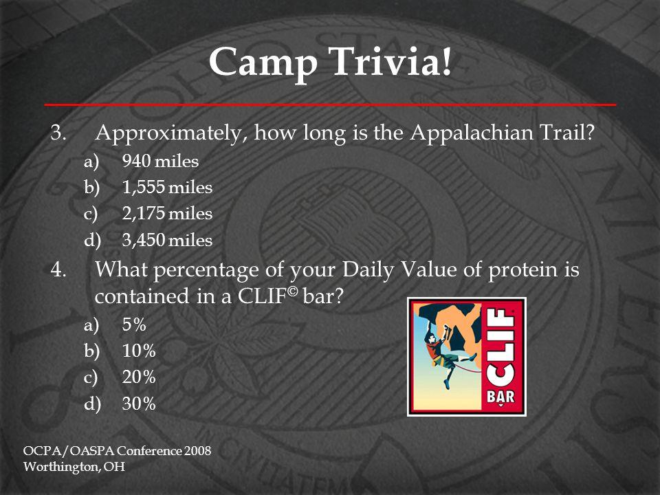 Camp Trivia.