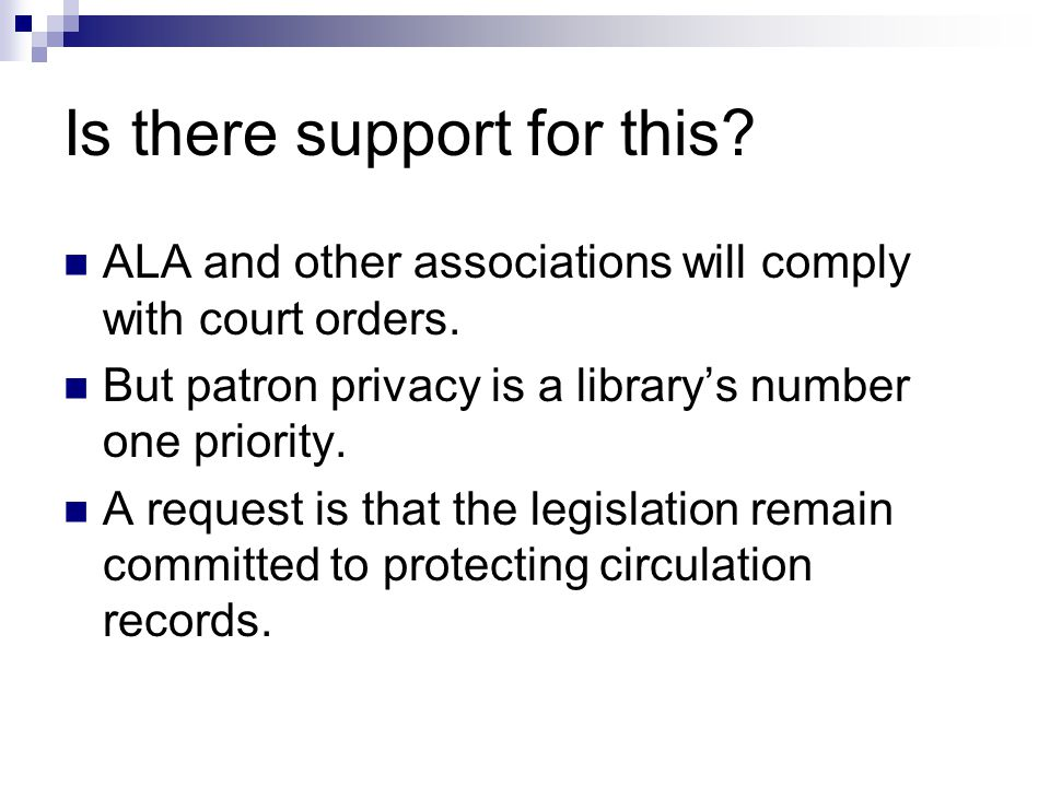 Resources Call the ALA Office for Intellectual Freedom.