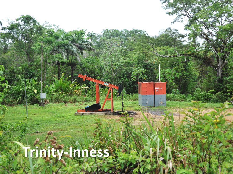 Trinity-Inness Asset Summary 14 Installing new well tanks Petrotrin IPSC field 20 km from Goudron Current production 140-150 bopd from approx.