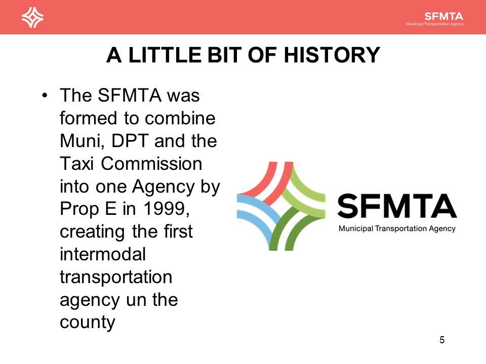 The SFMTA: the Organization 6