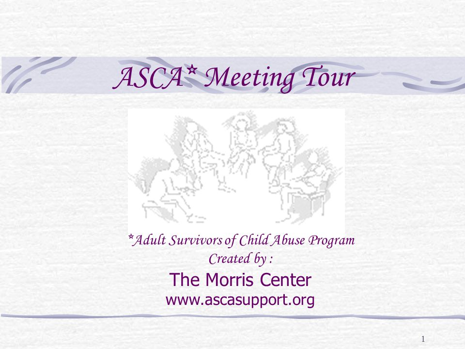 2 Good evening and welcome to ASCA, my name is Scott and I will be the co-secretary for this meeting along with Mary. So begins a typical ASCA meeting.