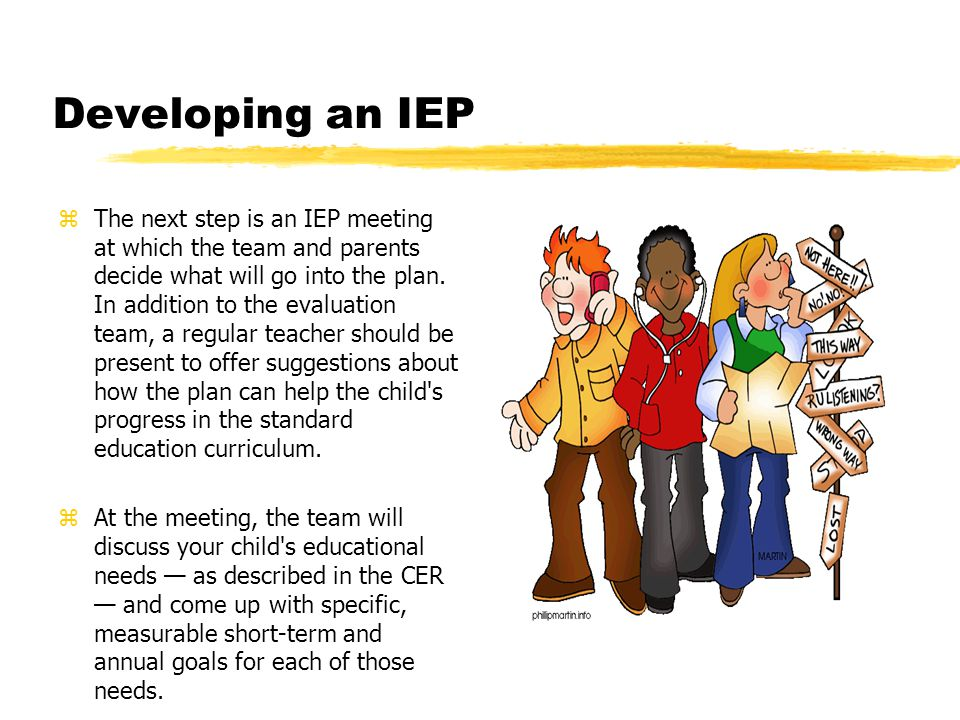 zThe IEP should be reviewed annually to update the goals and make sure the levels of service meet your child s needs.
