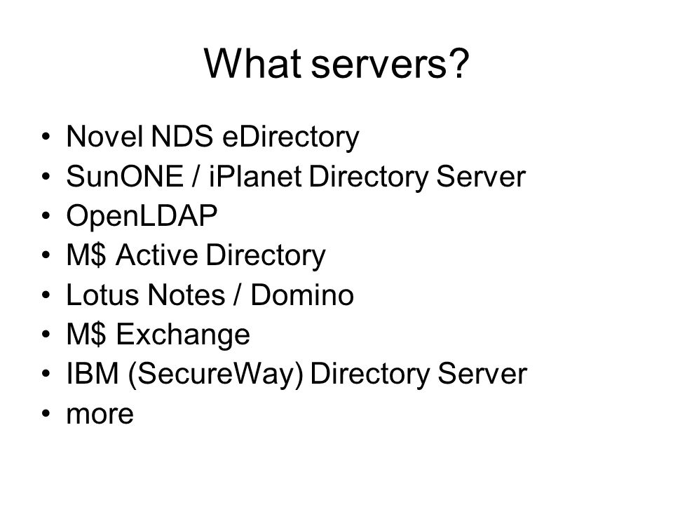 How do I organize my server.No fixed rules. Religious wars.