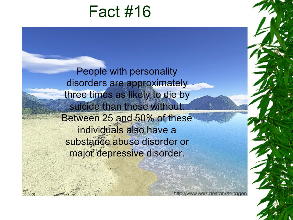 Fact #17 About 80% of people give some signals that they are suicidal before taking their own life.