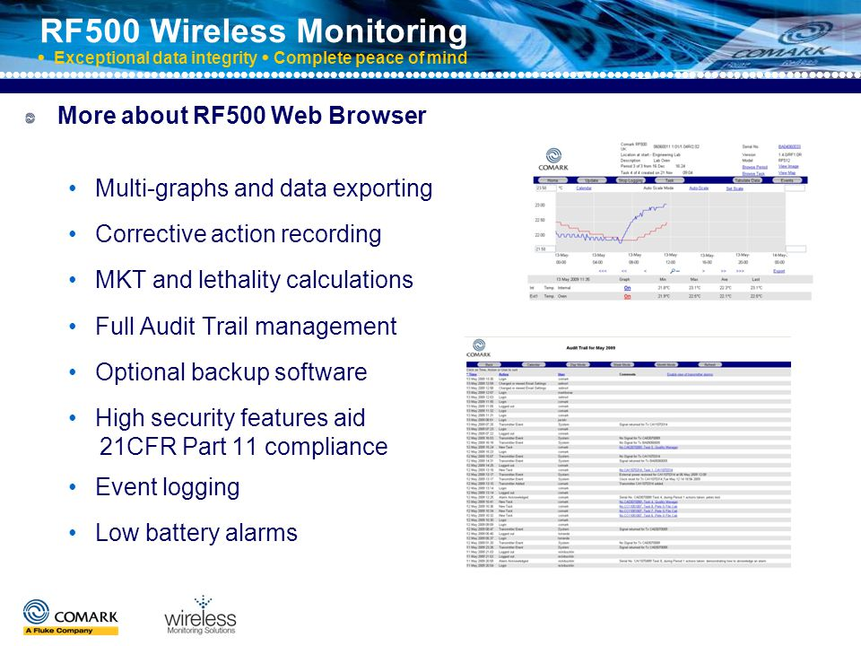 RF500 Wireless Monitoring  Exceptional data integrity  Complete peace of mind System works on mesh network ) ) ) ) ) ) ) ) ) ) ) ) ) ) ) ) ) ) ) ) ) ) ) ) ) ) ) ) ) ) ) ) ) ) ) ) ) ) ) ) ) ) ) ) ) ) ) ) )) ) ) ) ) ) ) ) ) ) ) ) ) ) ) ) ) ) ) ) ) ) ) ) ) ) ) ) ) ) ) Automatically adjusts to environmental changes, re-routing signals as required to ensure that data is always returned to the Gateway