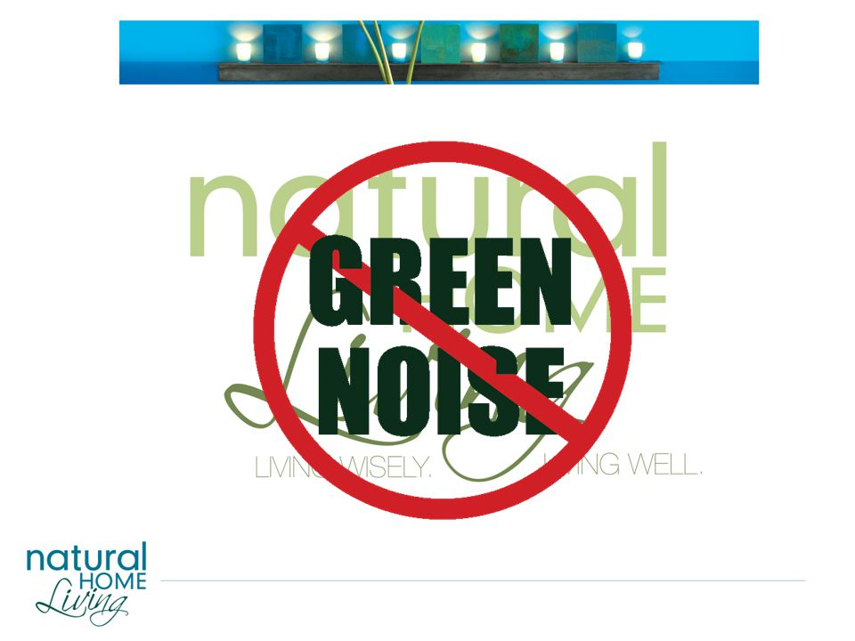 GREEN CHALLENGE MARKETING'S NOT AS EASY AS IT LOOKED AT FIRST GREEN NOISE Static caused by urgent, sometimes vexing or even contradictory information on the environment played at too high a volume for too long. That Buzz in Your Ear May Be Green Noise, New York Times, 06/15/2008 GREEN DAZE Most shoppers are still dazed and confused – and, as a result, frustrated and cynical – when it comes to turning green concern into green consumerism. Joel Makower, Executive Editor, Green Buzz