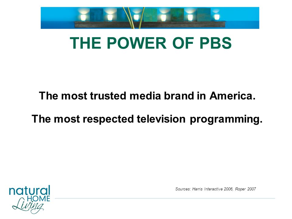 67 percent of PBS viewers would choose to purchase from a company that sponsors PBS.