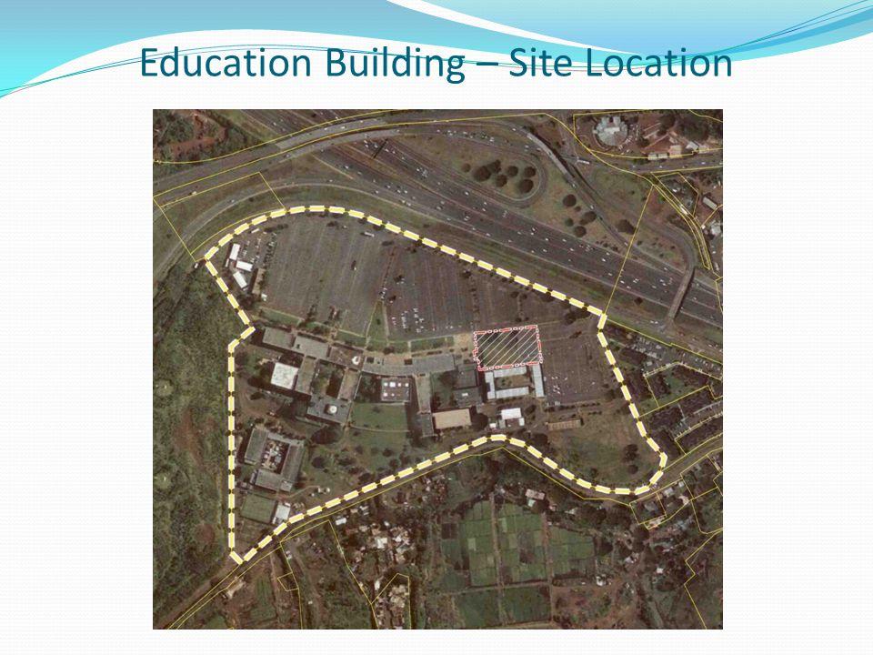 Education Building – Conceptual Design