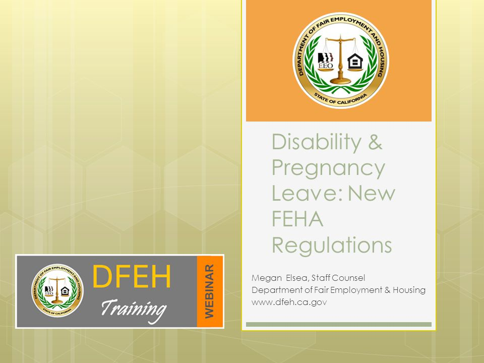 Overview  Part I: Amendments to Disability Regulations.