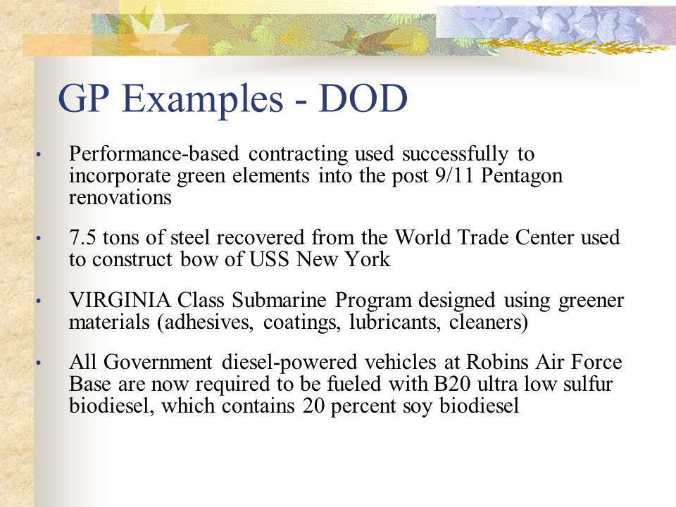 Subpart 23.8 – Ozone-Depleting Substances  23.803 Policy.