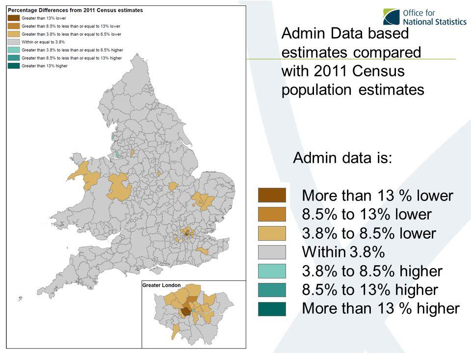 Population Pyramids using admin data SPD 5