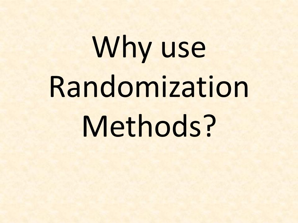 These methods are great for teaching statistics… (the methods tie directly to the key ideas of statistical inference so help build conceptual understanding)