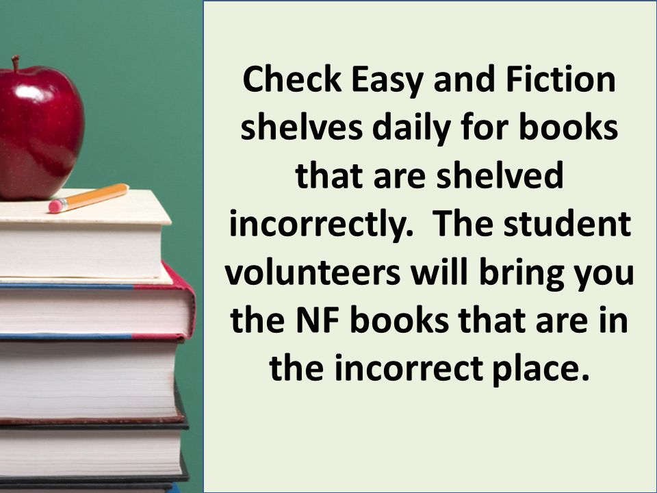 To determine who placed a book in the wrong place, go to Circulation.
