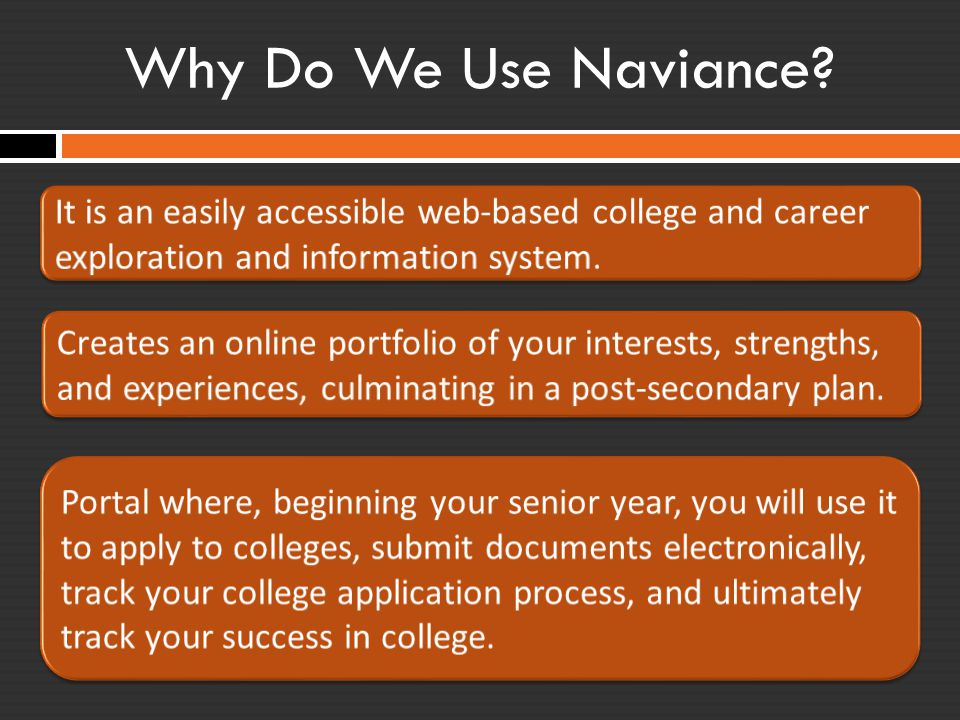 What is Naviance used for at LC?